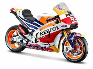 Maisto 1:10 Marc Marquez #93 Repsol Honda Spielzeug Modell Moto Gp Motorrad RC