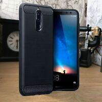 Huawei Mate 10 PRO Case Carbon Fiber Shockproof Hybrid Black