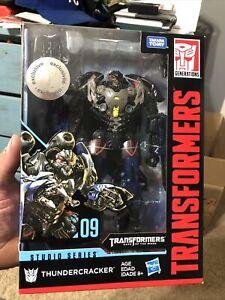 2017 Transformers Generations Studio Series THUNDERCRACKER 09 Voyager Class New
