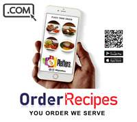 OrderRecipes.com - Premium Domain Name For Sale FOOD RECIPES DOMAIN NAME