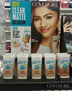 CoverGirl Clean Matte BB Cream ~ Choose from all Shades