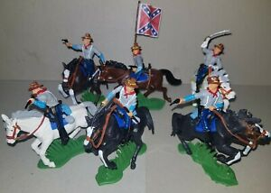 mounted SOUTHERN Troops American Civil War DSG  Soldiers ARGENTINA Britains