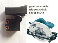 MAKITA TRIGGER SWITCH TO FIT 5604R 5704R CIRCULAR SAW 110V 240V