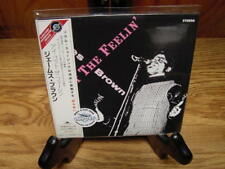 JAMES BROWN I GOT THE FEELIN JAPAN REPLICA TO LP LIMITED EDITION RARE OBI CD