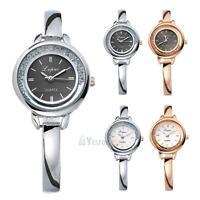 Lvpai Luxury Women's Thin Stainless Steel Band Analog Quartz Wrist Watch Watches