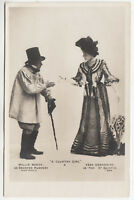 VERA EDWARDINE - Willie Warde - in A COUNTRY GIRL - c1900s Real Photo postcard