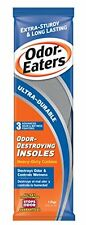 Odor Eaters Ultra Durable Odor Destroying Heavy Duty Cushion Insoles 1 pair Each