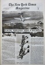LINCOLN PADEREWSKI BRITAIN GERMANY WAR FDR SINGAPORE DOG 1938 February 6 Times