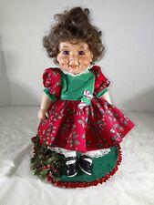 Christmas Doll Display