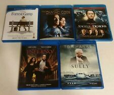 Forrest Gump, The Da Vinci Code, Angels & Demons, Inferno & Sully (Blu-ray)