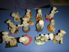 12 Danbury Mint Figurines 1997 Pillsbury Doughboy Twelve Months