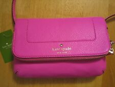 KATE SPADE  Pink  MARIANA  Mansfield bgnvillea Crossbody Shoulder Bag  $158.00
