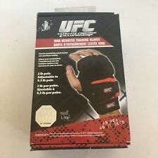 UFC MMA Weighted Training Boxing Sparring Martial Arts Gloves L/XL Open Box