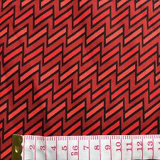 Cotton Quilt fabric Print fabric (Dark red moire cloth)per meter