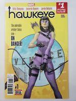 HAWKEYE #1 (2017) MARVEL COMICS KATE BISHOP! 1ST PRINT! KELLY THOMPSON! NM