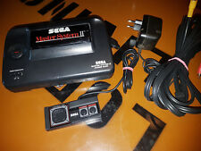 # Sega Master System 2 consola con cinch salidas + original pad + Sonic 1 #