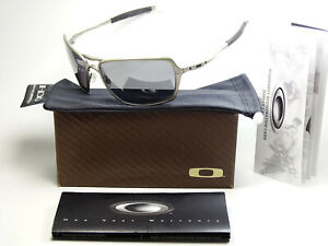Oakley Inmate Light Black Polarized Sonnenbrille Deviation Probation Felon Romeo