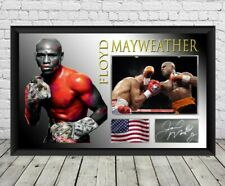 New Floyd Mayweather Autograhed Signed Photo Print Poster Memorabilia