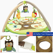 Newborn Infant Baby Children Activity Gym Playmat Soft Floor Rug Kids Play Mat