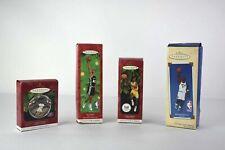 Hallmark Keepsake Sports Ornament Collector's Series Lot of 4