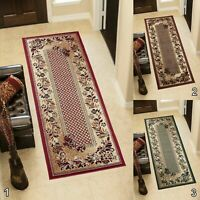 New Large Small Narrow Hallway Carpet Runners Floral Pattern Classical Design