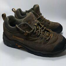 Columbia Men's 8  Trail CYM6390-255 Brown Low Top Hiking Shoe Sneaker