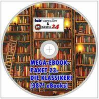 ☝ Mega Ebook Paket 23 CD - DIE KLASSIKER auf CD Rom 387 eBooks ePUB PDF Sammlung