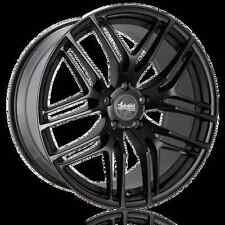 18x8 Advanti Racing Bello 5X100mm +35 Black Wheels Fits Sti Sedan Wrx Martix