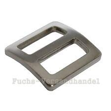 50 Stück Schieber 25mm Schiebeschnalle Stopper 26 mm Gurtschieber Stahl Metall