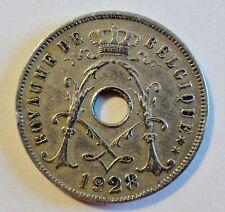 Belgien / Belgique - 25 Centimes 1928 - ss bis vz / near XF erhalten (2204