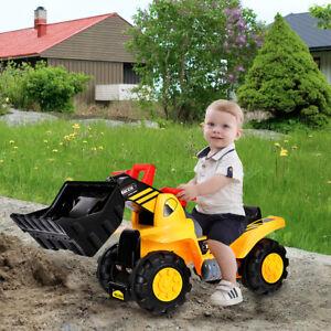 Kinderbagger Bagger Sitzbagger Sandbagger Rutscher Bagger Spielzeug mit Sound