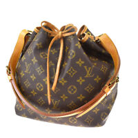 Authentic LOUIS VUITTON Noe PM Shoulder Bag Monogram Leather BN M42226 89MF641
