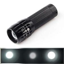 XML 1200 lumens Q5 Zoomable LED torche Zoom Lampe Flashlight Noir DF