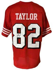 San Francisco 49ers John Taylor Autographed Pro Style Jersey JSA Authenticated