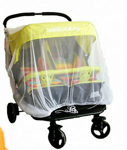 Universal Baby Mosquito Net Insect Bug Cover for Baby Planet Double Stroller