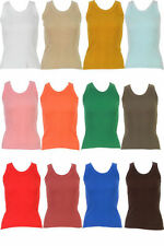 Unbranded Patternless Crew Neck Tops & Shirts for Women