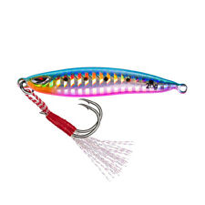 Vertical Jigging Lure Lead Jig 20g Sea Fishing Bait Hook Bass Carp