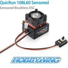 Hobbywing Quickrun 10BL60 Sensored Brushless ESC 2-3S Lipo 1/10 1/12 Scale