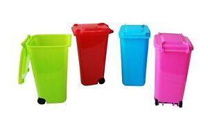 Mini MÜLLEIMER Mülltonne Deckel Tischabfalleimer Abfalleimer Abfallsammler 31