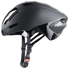 uvex EDAERO aero road cycling helmet matte black 53-57