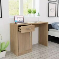 HOMCOM Computertisch Computer Schreibtisch Bürotisch PC Tisch Holzfurnier
