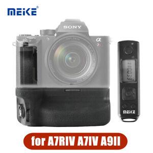 Meike MK-A7R IV Pro Grip W/Wireless Shutter Remote For Sony a7RIV a7IV a9II A7R4