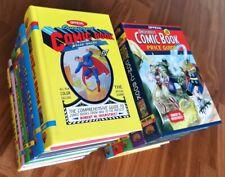 OVERSTREET COMIC BOOK PRICE GUIDE collezione rara 11 volumi ORIGINALI USA