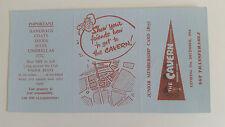 THE CAVERN CLUB Original 1964 JUNIOR MEMBERSHIP CARD (BOYS) BEATLES MERSEYBEAT