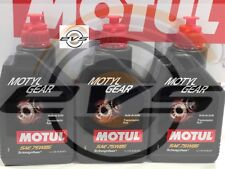 3 Litri Olio Trasmissione Cambio Differenziale Motul MOTYLGEAR 75W85 API GL4 GL5