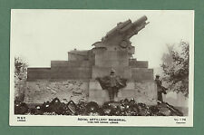 1925 RP PC ROYAL ARTILLERY MEMORIAL, HYDE PARK, SHORTLY AFTER UNVEILING