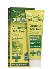 OPTIMA AUSTRALIAN TEA TREE ANTISEPTIC TEA TREE CREAM 50ml - GENTLE SOOTHING