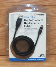 Genuine Radio Shack (26-176) 6 Foot (1.8m) Digital Camera Replacement Cable *New