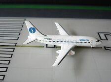 Sabena Boeing 737-229Adv OO-SDE 1:400 scale diecast Aeroclassics