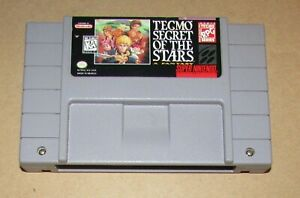 Tecmo Secret of the Stars for Super Nintendo Fast Shipping Authentic